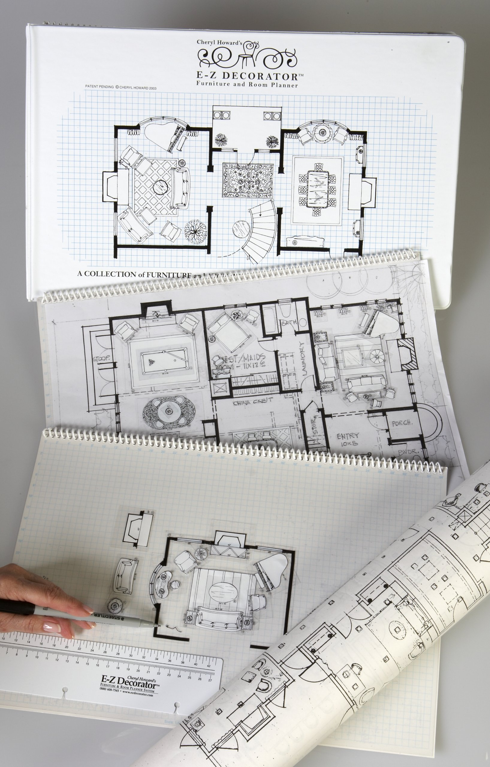 E Z DECORATOR Furniture And Room Planner For Interior Design Projects (E Z  DECORATOR System) Ring Bound U2013 2004