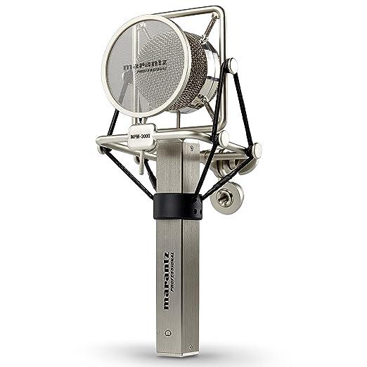 4 opinioni per Marantz Professional MPM-3000, Microfono a Condensatore con Diaframma Largo,