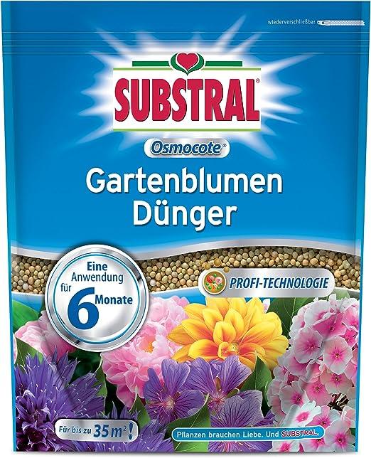Substral osmocote Jardín Flores abono – 1, 5 kg: Amazon.es: Jardín