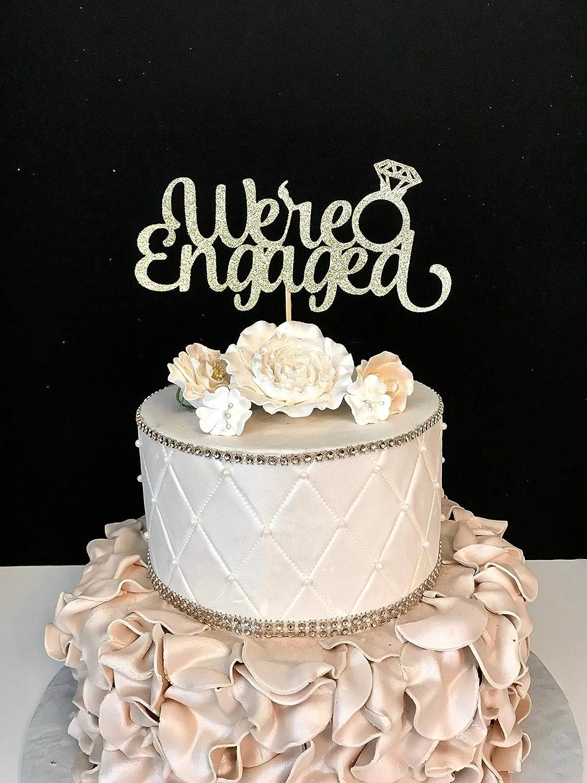 Bridal Shower Cake Topper It was Written in the Stars Cake Topper Wedding Cake Topper