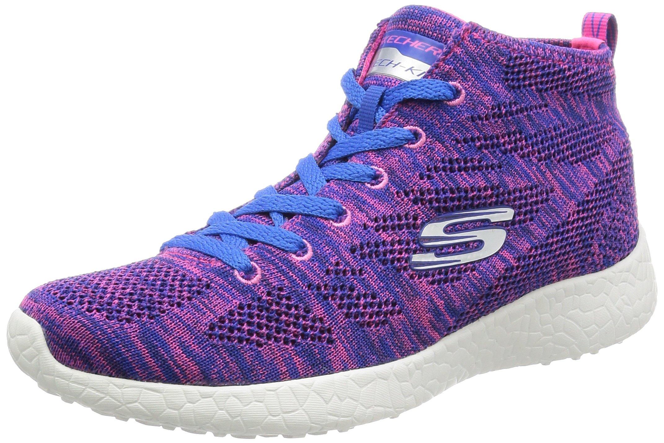 Skechers Sport Women's Energy Burst Demi Boot Sneaker,Purple/Blue,8.5 M US