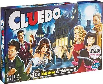 HASBRO Juegos 38712109 Cluedo Familia Juego, finlandesa Voz Variante, Multicolor: Amazon.es: Juguetes y juegos