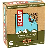 CLIF Bar Sierra Trail Mix Energy Bars, 2.4 Ounce, 6 Count (Pack of 2)