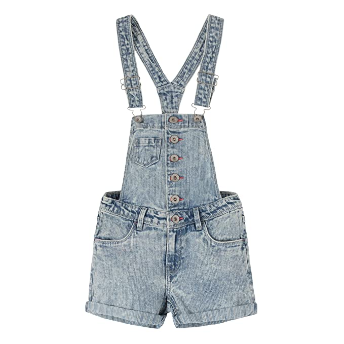 Amazon.com: Levis Sharon - Pantalón corto para niña: Clothing