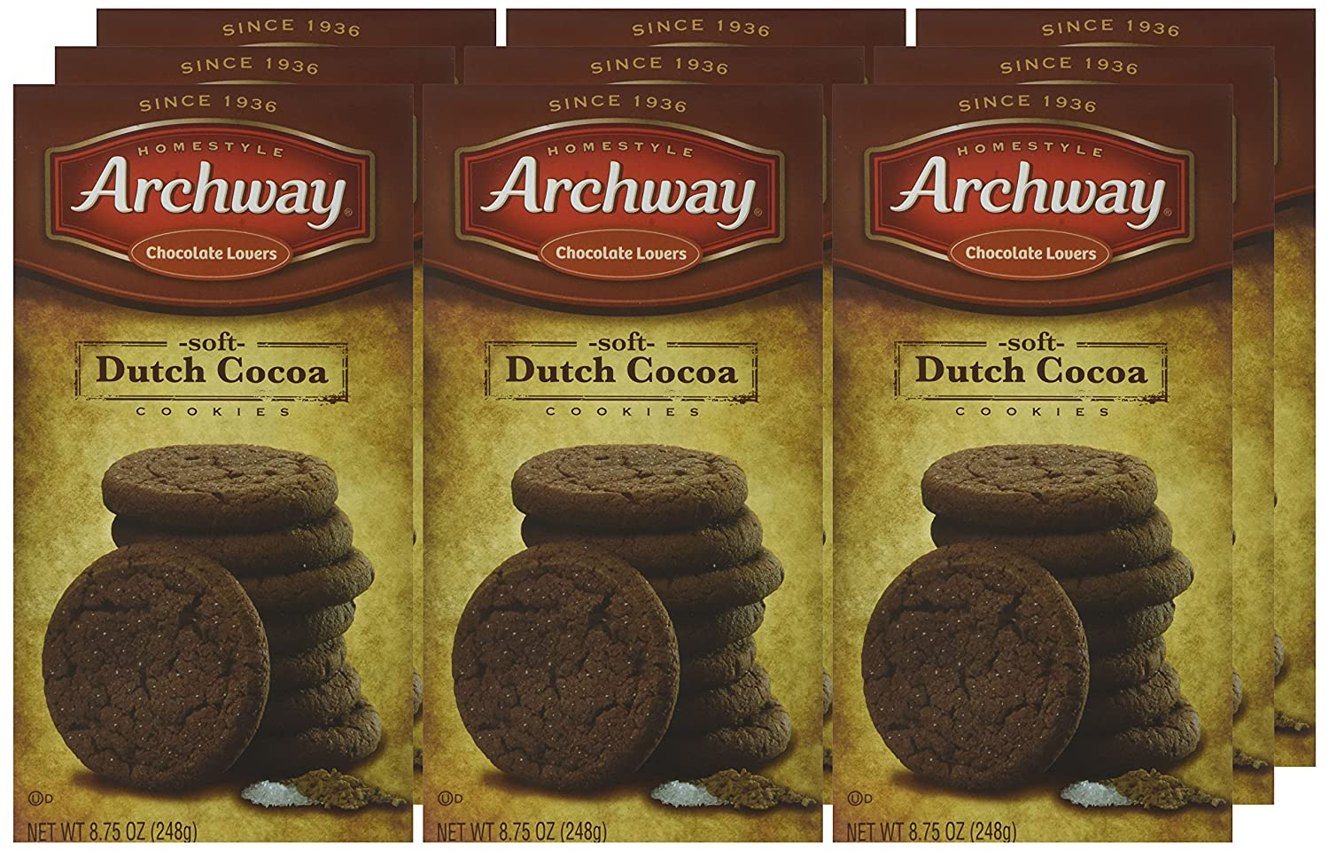 Amazon.com : Archway Cookies, Soft Dutch Cocoa, 8.75 Ounce (Pack of ...