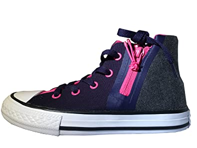 3c71b0b66d235 Converse Girls CTAS Sport Zip Hi Skateboarding Shoes