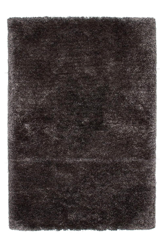Lalee abgepasste Teppiche, 100% 200 Polyester, Graphit, 140 x 200 100% cm d7e7c7