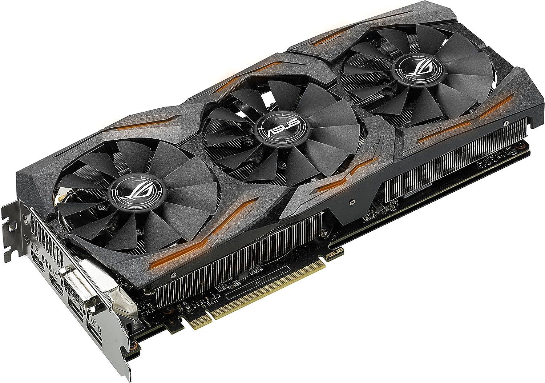 Amazon.com: ASUS ROG STRIX Radeon Rx 480 8GB DP 1.4 HDMI 2.0 ...