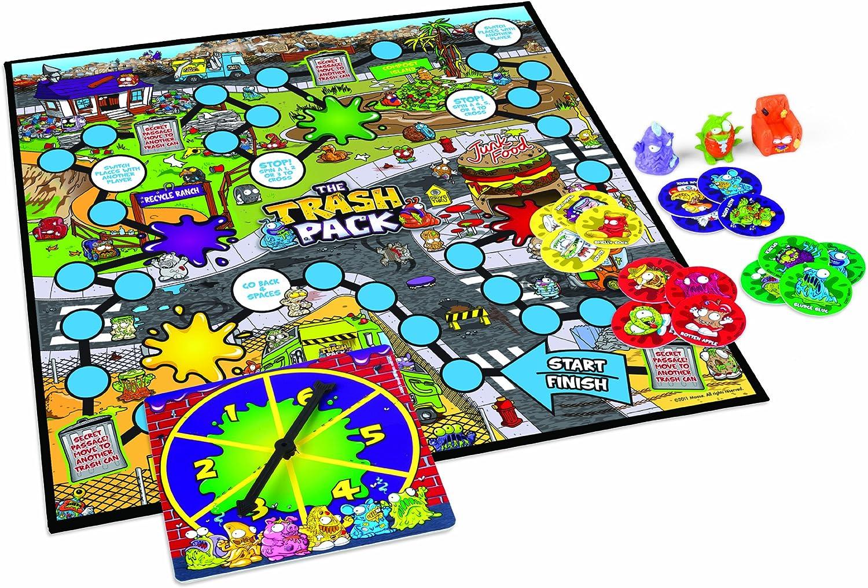 The Trash Pack Los Basurillas - Juego de Tablero, de 2 a 4 Jugadores (John Adams 9814) [Importado de Inglaterra]: Amazon.es: Juguetes y juegos