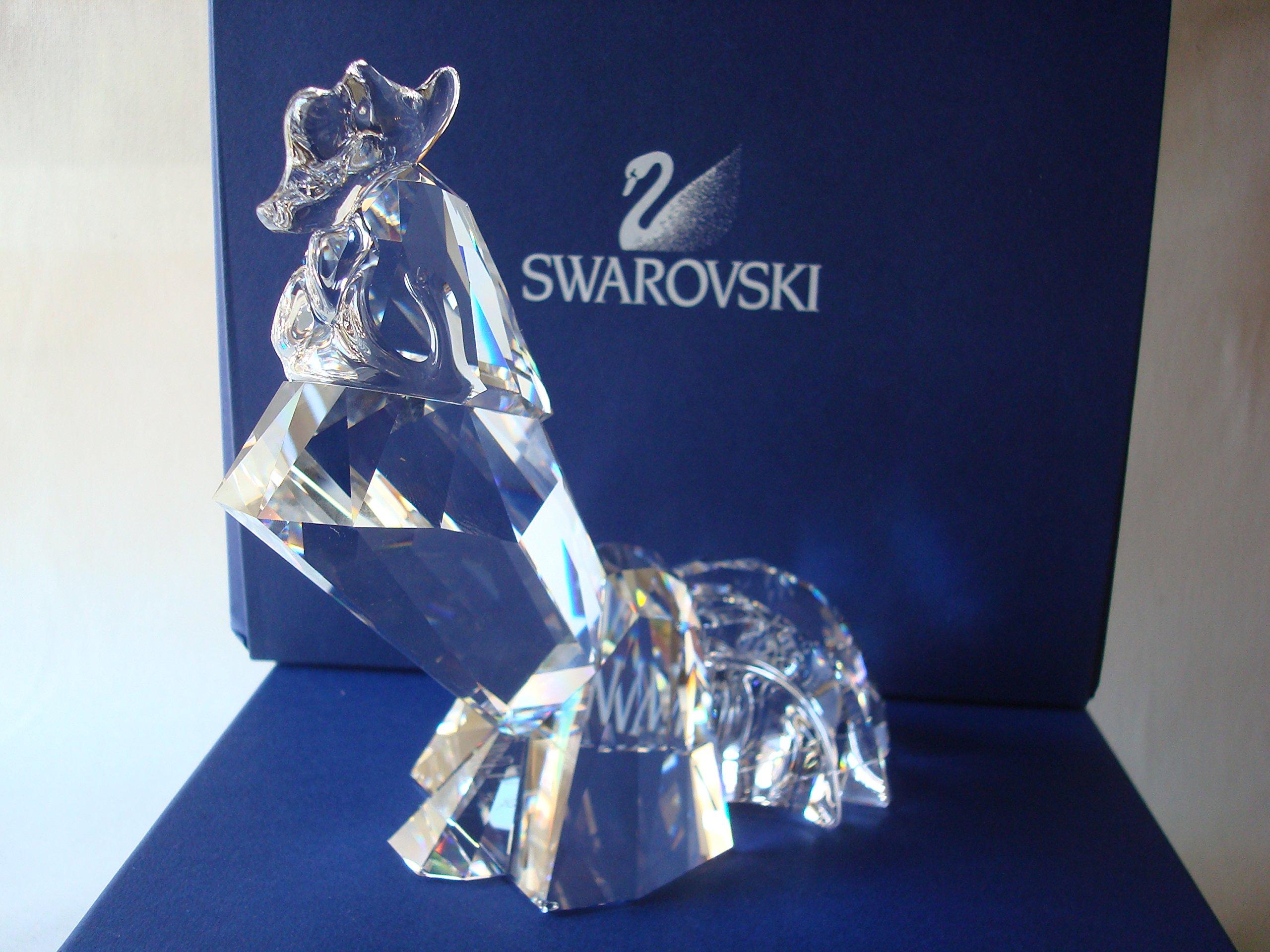 Swarovski the Rooster by Swarovksi