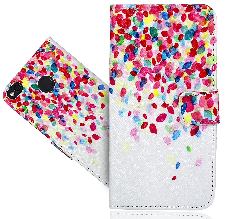 FoneExpert/® Xiaomi Redmi 4X Handy Tasche Wallet Case Flip Cover H/üllen Etui H/ülle Ledertasche Lederh/ülle Schutzh/ülle F/ür Xiaomi Redmi 4X