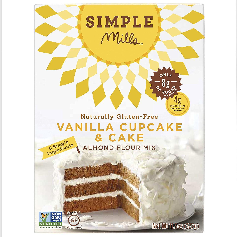Amazon.com : Simple Mills Vanilla Cake Mix, 11.5 Ounce : Grocery ...
