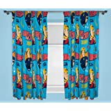 character world 54-inch Fireman Sam Brave Curtains