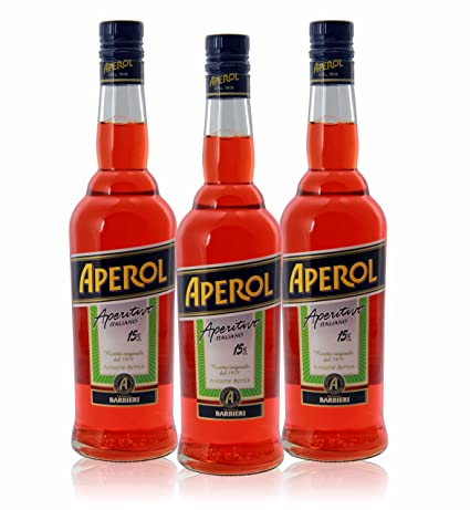 ITALIANO Aperitivo Aperol (Pack 3 botellas): Amazon.com ...