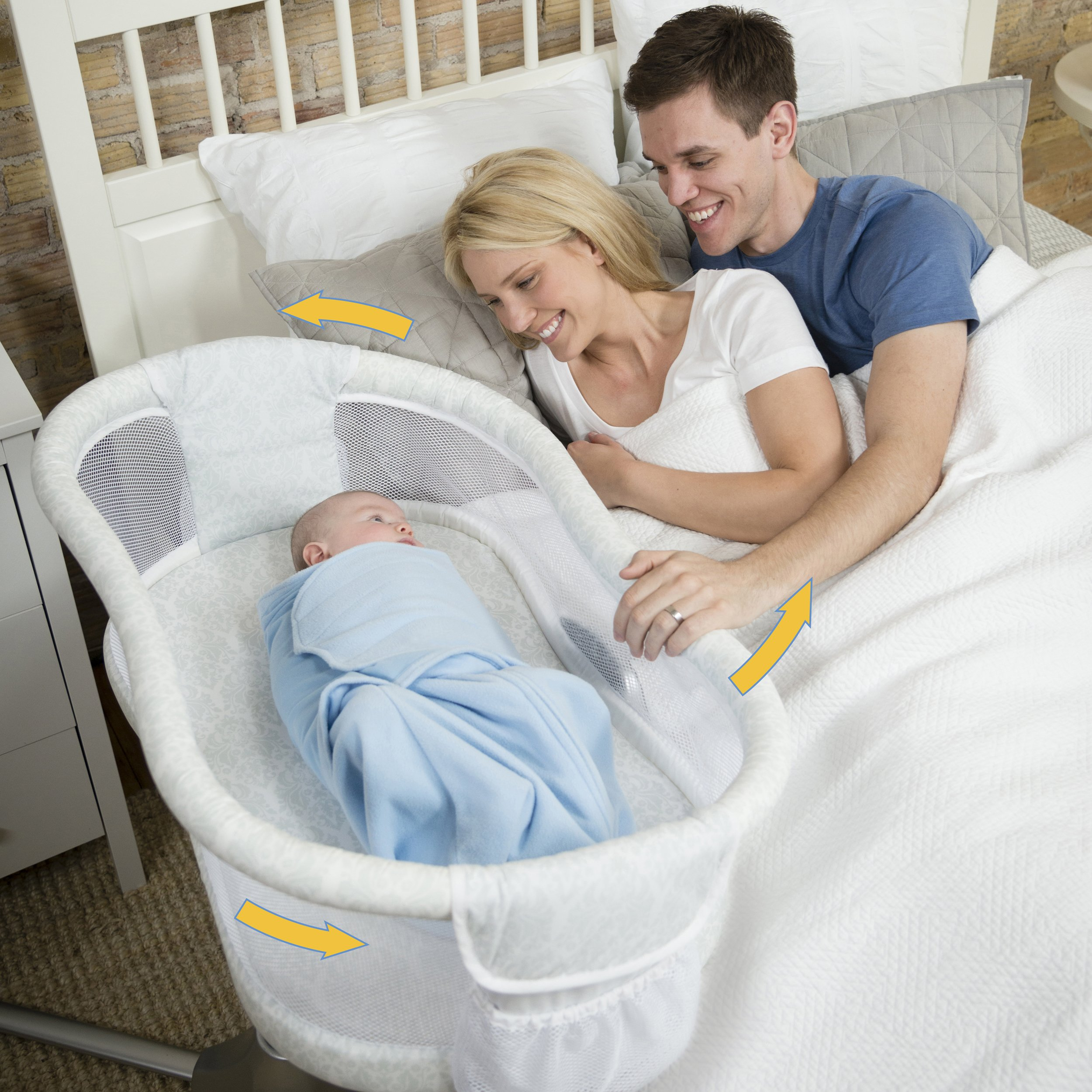 HALO Bassinest Swivel Sleeper – Premiere Series Bassinet by Halo (Image #2)