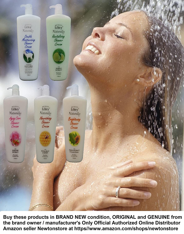 The Big Sale Six Bottles Leivy Goat Milk Body Shampoo Shower Cream Goats 1150ml Get In 1 Week Rich Foaming Creamy Milky Moisturizing Anti Aging