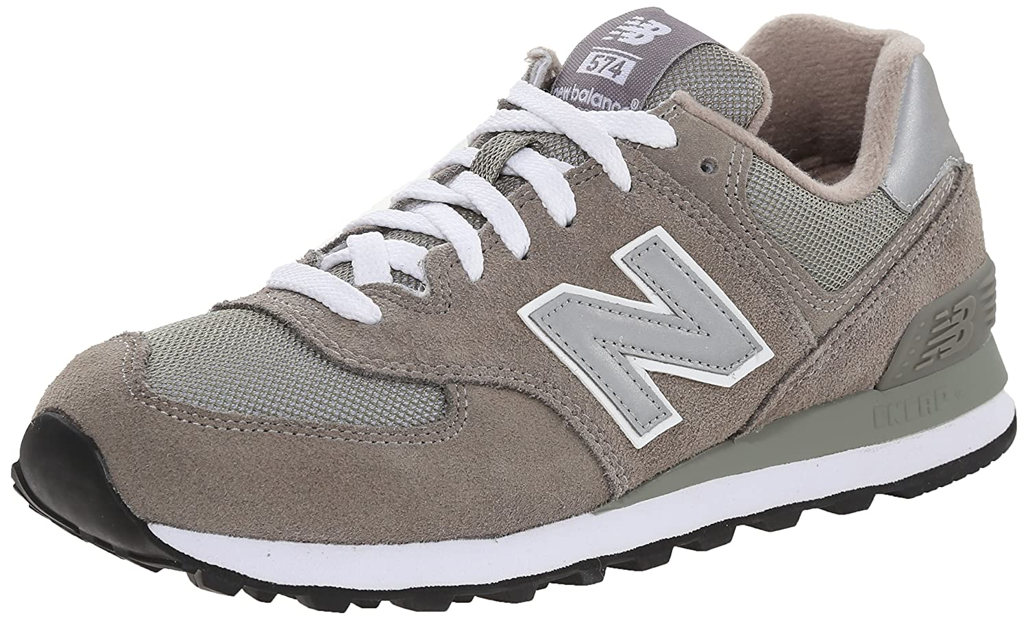 new balance 574 purple and white