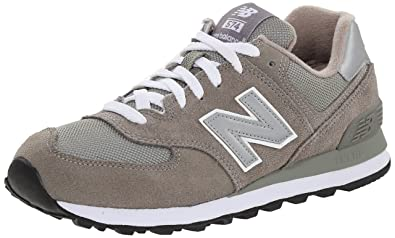 New Balance Women's W574 Classic Fashion Sneaker,Grey,10 ...