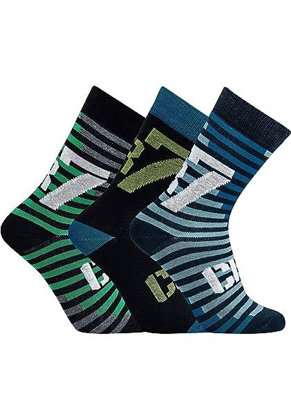 CR7 Cristiano Ronaldo - BOYS - calcetines deportivos para niños - Pack de 3 - disponible en diferentes tamaños y motivos: Amazon.es: Ropa y accesorios
