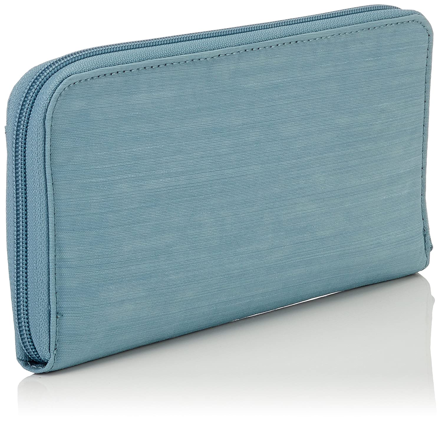 56e1bd94cd02 Kipling Travel Doc, Women's Wallet, Blue (Dazz Soft Aloe), 15x24x45 ...