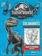 Jurassic World : Fallen Kingdom : Le livre de coloriages