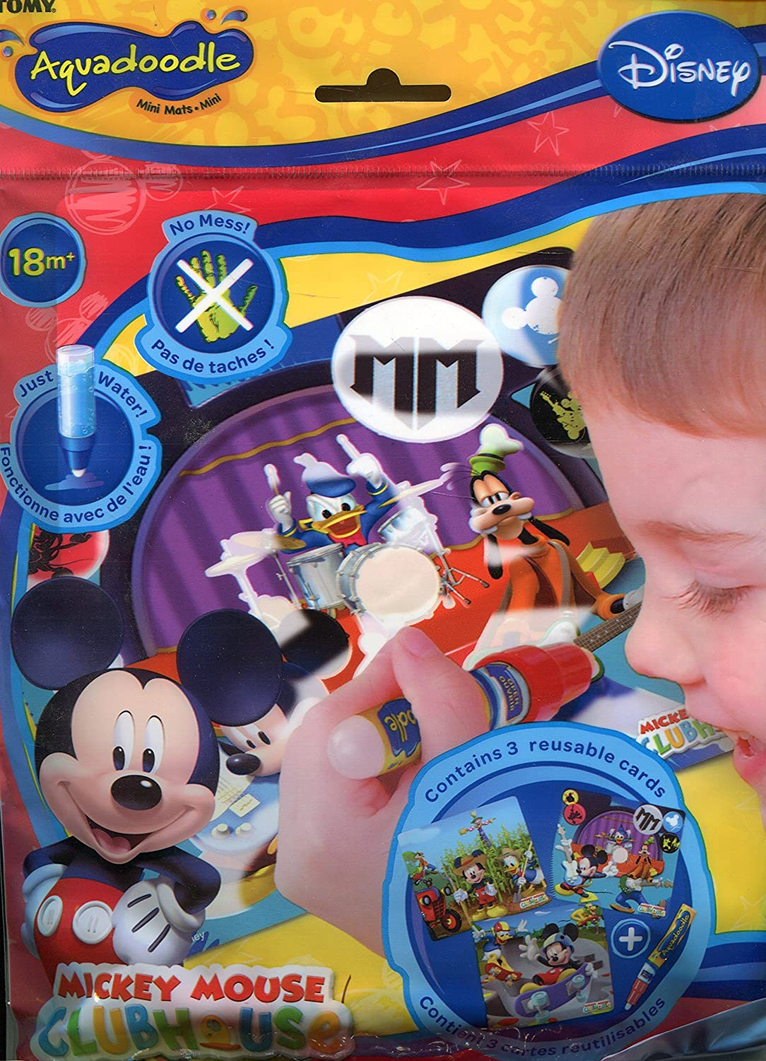 Tomy Aquadoodle Mickey Mouse Clubhouse Mini Mats