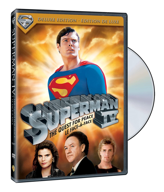 Superman IV: The Quest for Peace [DVD]: Amazon.es ...