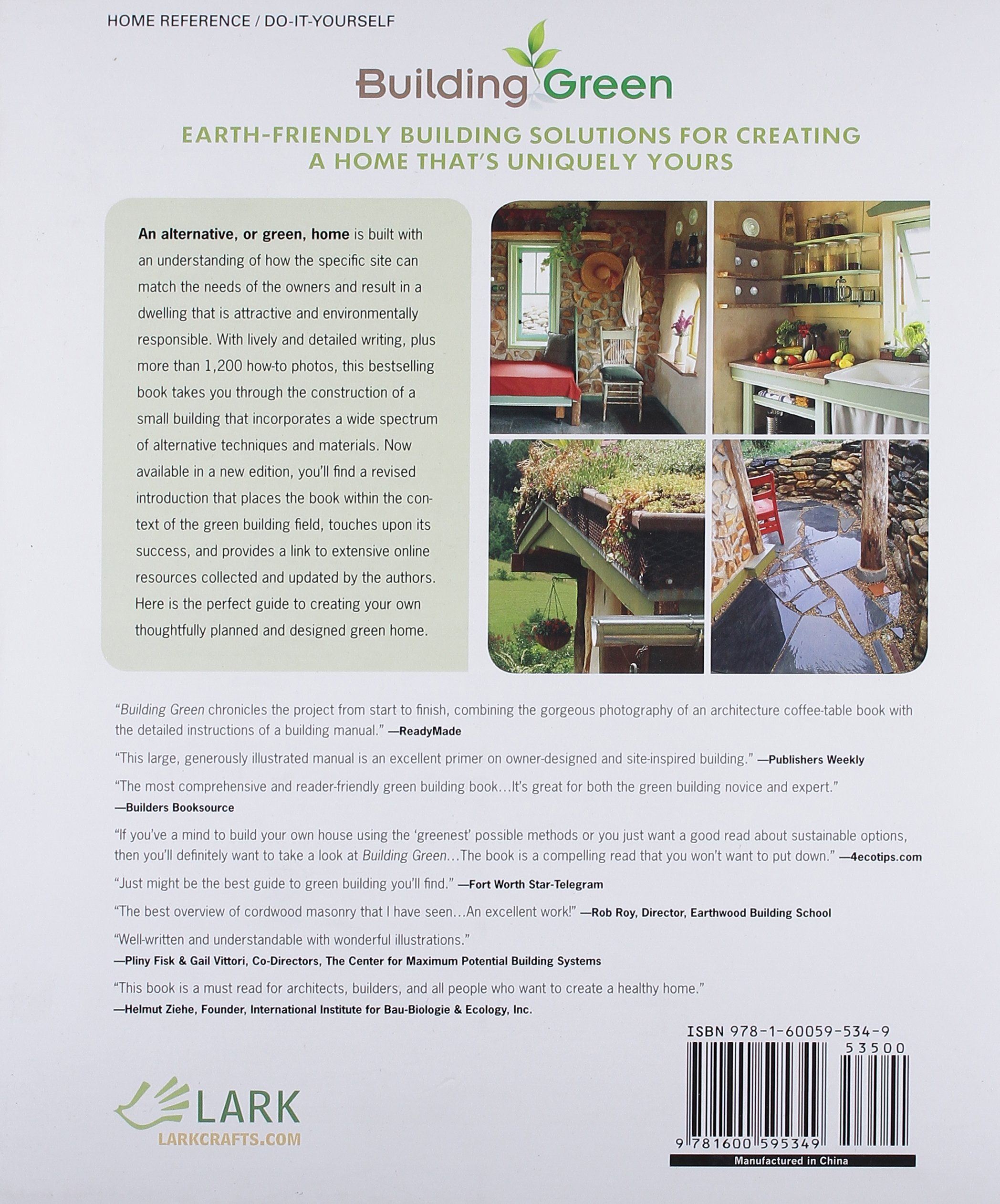 Building Green New Edition A plete How To Guide to