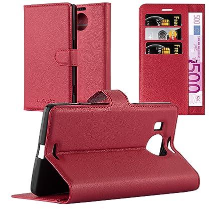 Amazon.com: Cadorabo – Estilo Libro para Nokia Lumia 950 XL ...