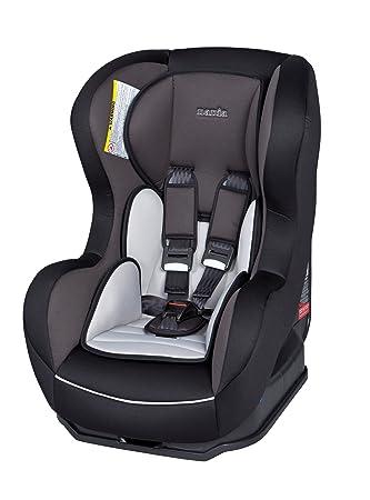 Nania Cosmo SP Car Seat in Glacier (Black/Grey, 0 to 4 Years Car ...