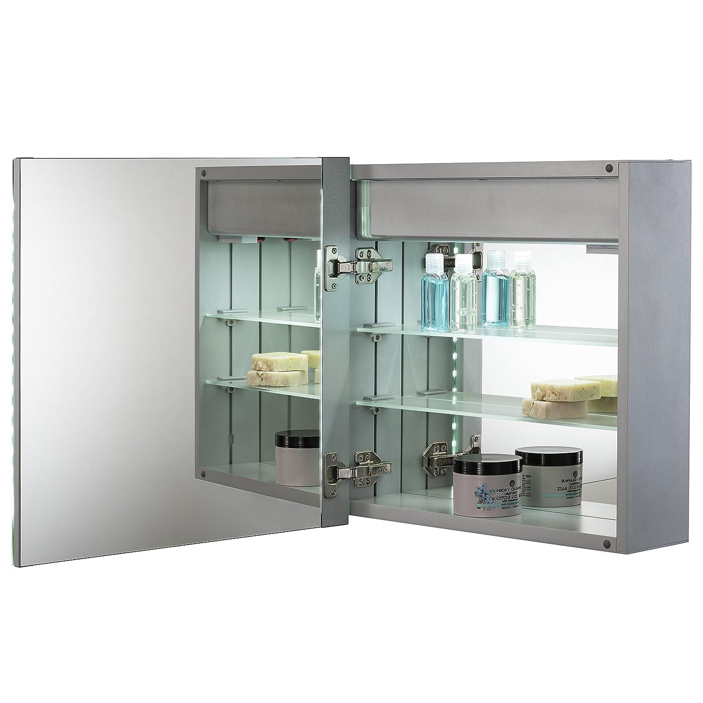 91widQDJh6L._SL1500_ Erstaunlich Spiegelschrank Mit Licht Und Steckdose Dekorationen