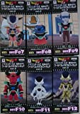 ドラゴンボールZ 復活の「F」 ワールドコレクタブルフィギュア vol.2 全6種セット