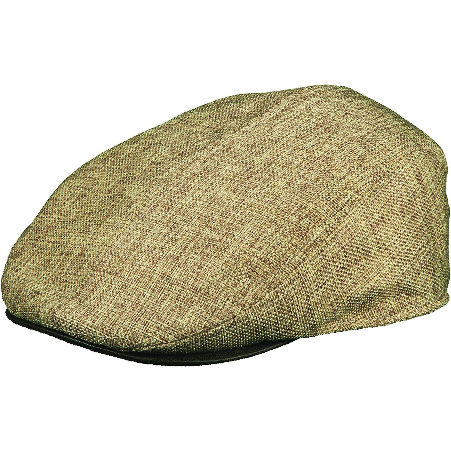 2bd47321a4e23f Stetson Men's Textured Reeded Fabric Ivy Hat at Amazon Men's Clothing store:
