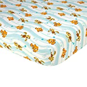 Disney Finding Nemo Crib Sheet, Blue