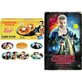 Stranger Things Exclusive Game Set Season 1 DVD Blu Ray VHS Box Edition + Kellog's Eggo Gard Game - Special Edition Bundle