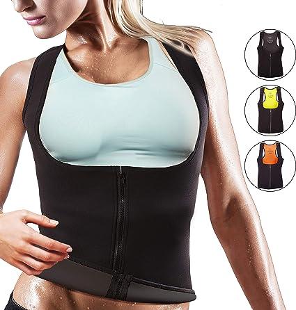 Womens Waist Trainer Vest Gym Slimming Adjustable Sauna Sweat Belt Body Shaper