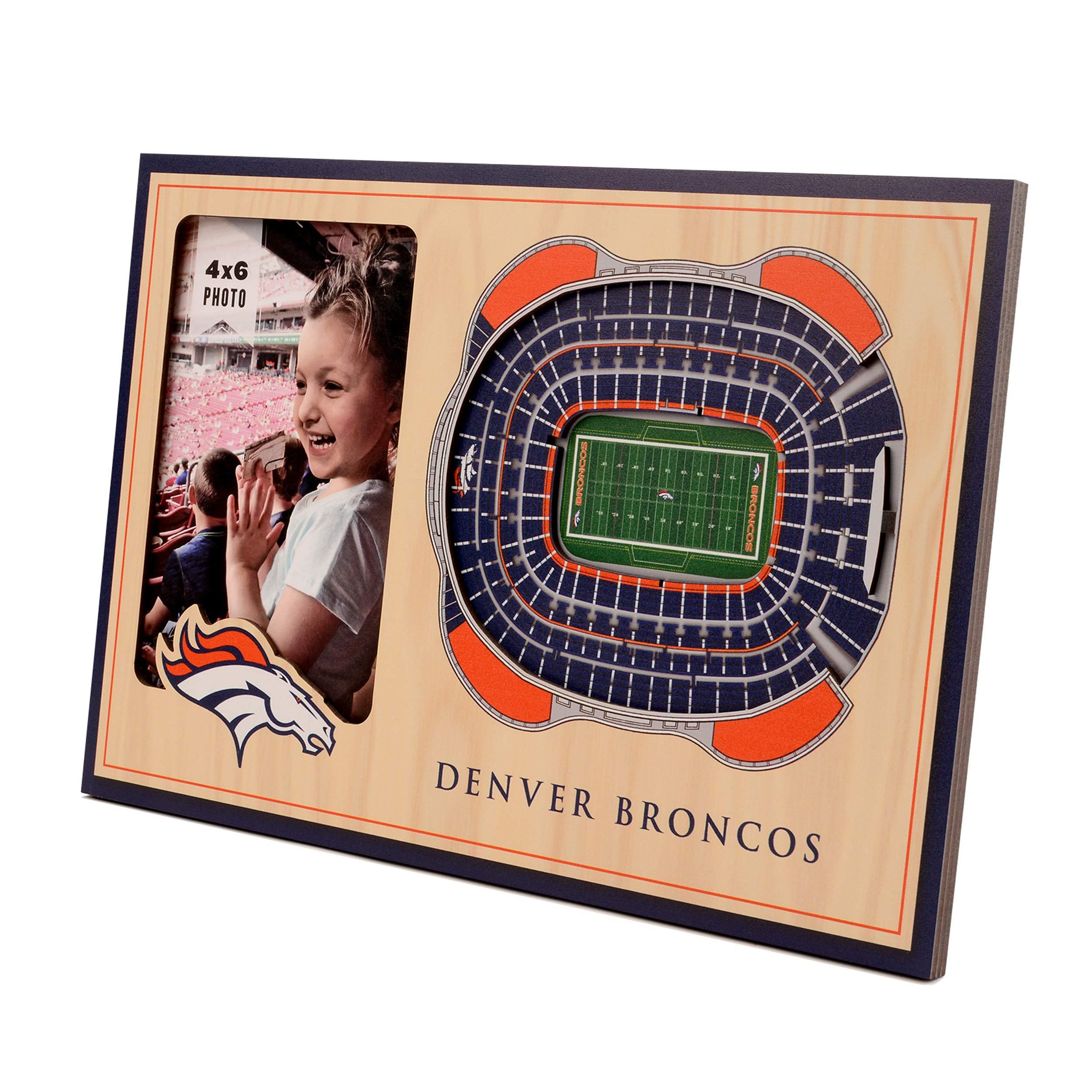 NFL Denver Broncos 3D StadiumViews Picture Frame by YouTheFan
