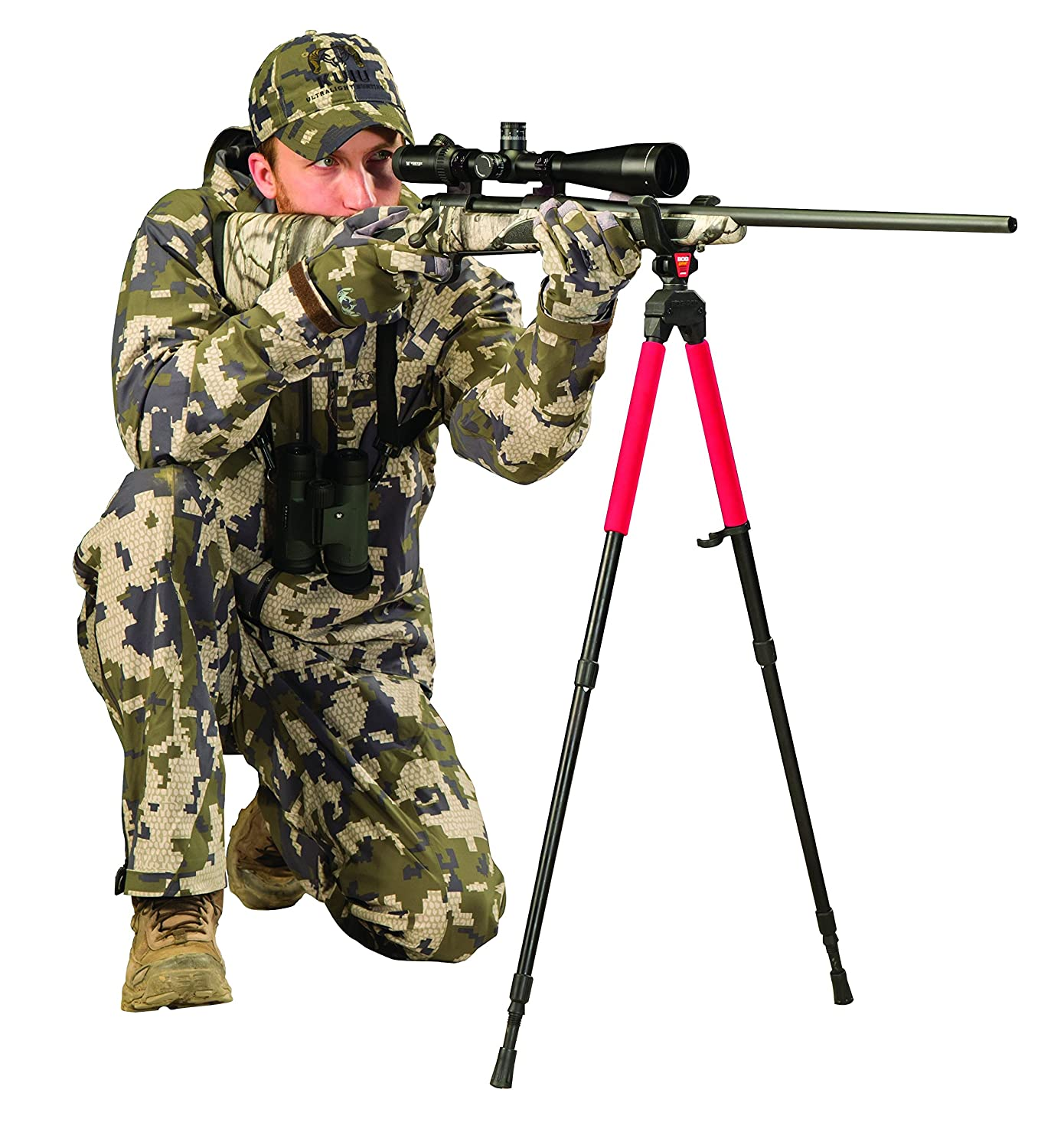 Bog-Pod SB-2 Sportsman's Bipod Shooting Sticks