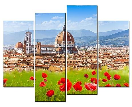 amazon com smartwallart city landscape paintings wall art