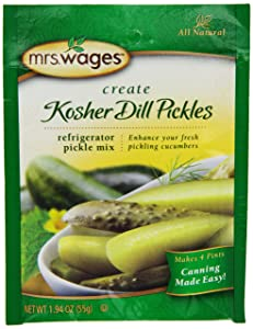 Mrs. Wages Kosher Refrigerator, 1.9-Ounce Pouches (Pack of 12)