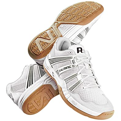 Salming Race R2 3.0 Mens White Court Shoes, US Shoe Size- 12 US