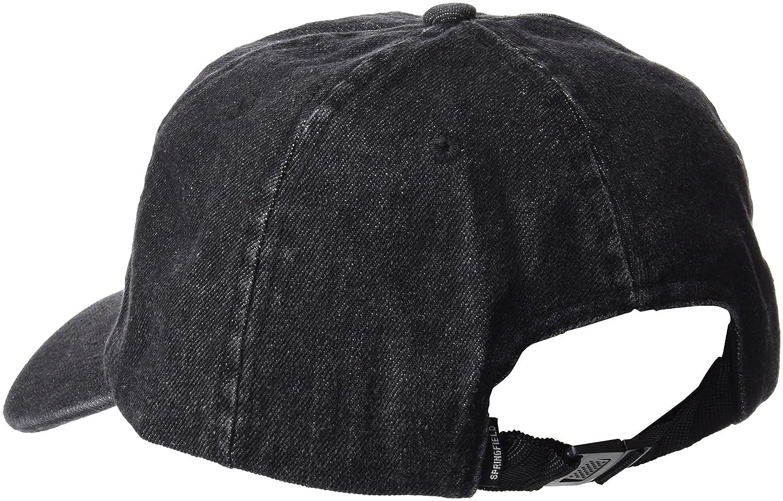 Desconocido Springfield Black Denim Cap, Gorro de Punto para Hombre, Negro, One Size (Tamaño del Fabricante:U): Amazon.es: Ropa y accesorios