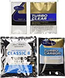 Still Spirits Triple Pack - Turbo Classic 8 Yeast, Turbo Carbon and Turbo Clear