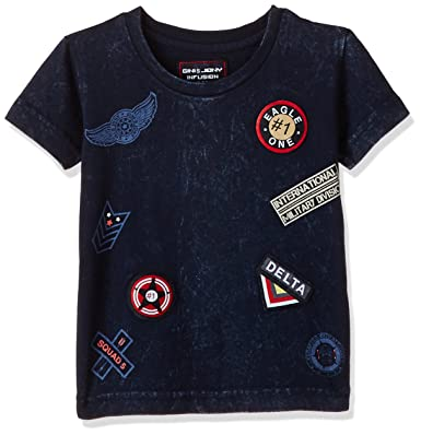 d5f63aaec Gini & Jony Boys' T-Shirt: Amazon.in: Clothing & Accessories