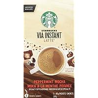 Starbucks Via Instant Peppermint Mocha Latte - 5 Single Serve Packets