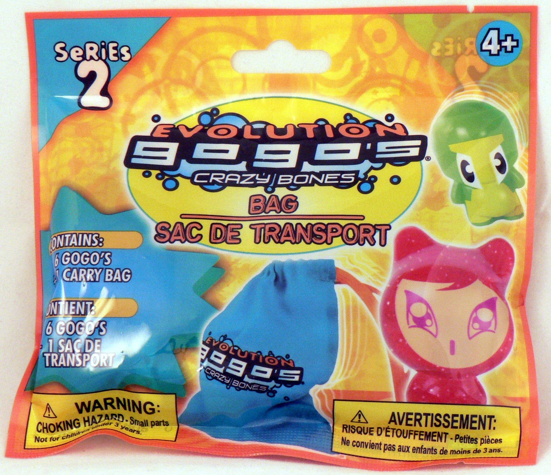Gogo's Crazy Bones 6-Pack with Carry Bag - Series 2