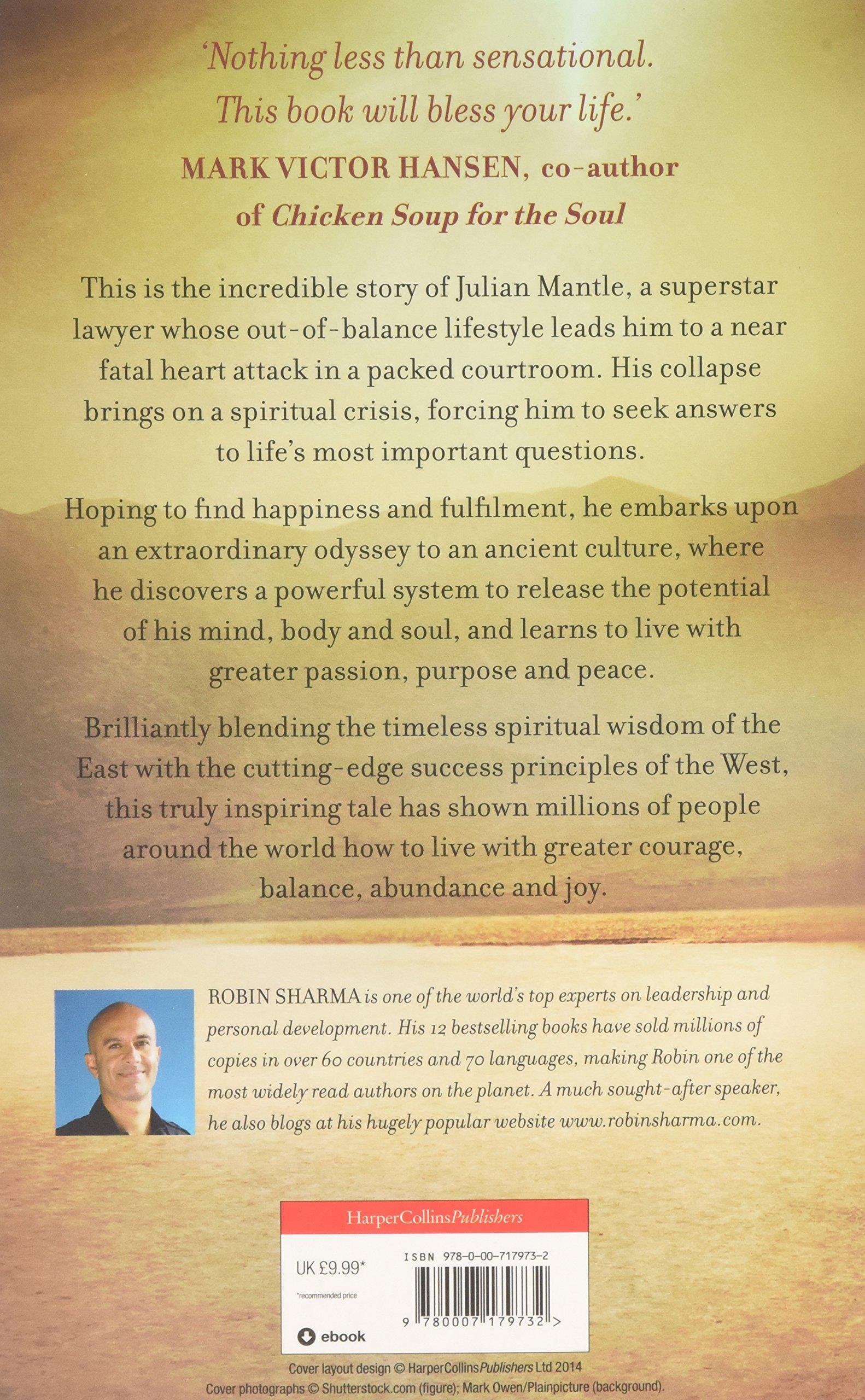 The Monk Who Sold His Ferrari: Amazon: Robin Sharma: 9780007179732:  Books