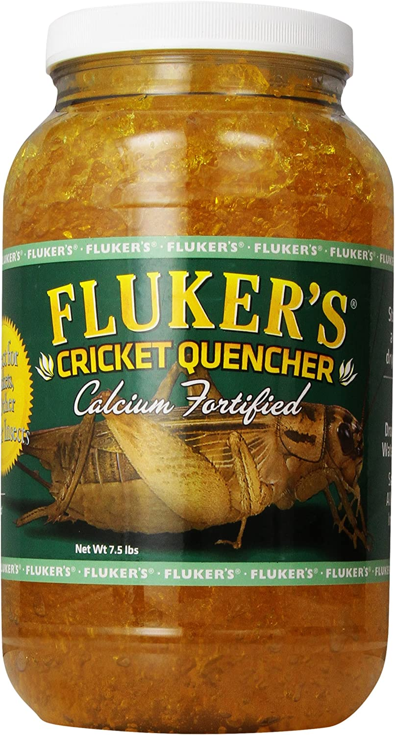 Fluker Labs SFK71203 Calcium Fortified Cricket Quencher, 7.5-Pound