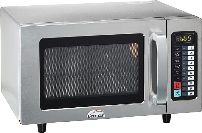 Opinión sobre Lacor 1 69325-Horno microondas Profesional Fabricado, 25 L, 1000 W, Acero Inoxidable