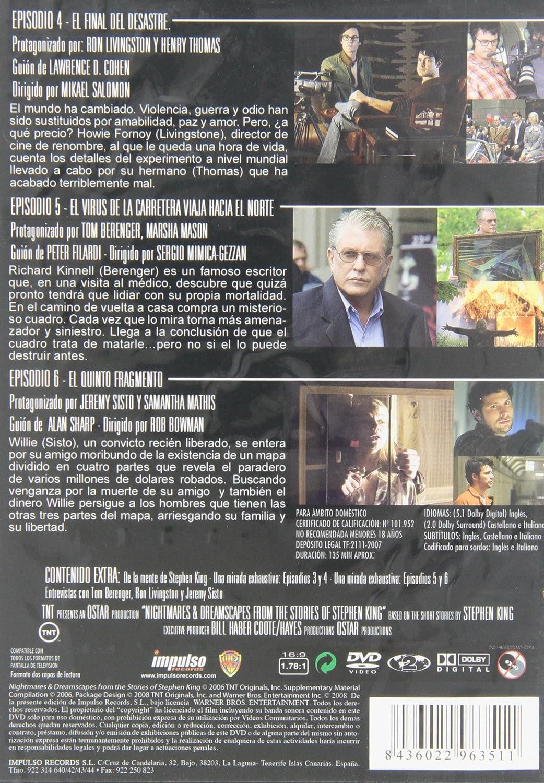 Pesadillas y alucinaciones 2 [DVD]: Amazon.es: Tom Berenguer ...